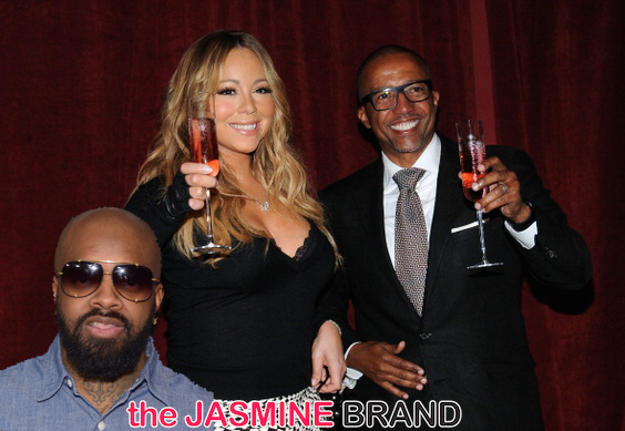 [Pink Slip Problems] Mariah Carey Replaces Jermaine Dupri With Kevin Liles