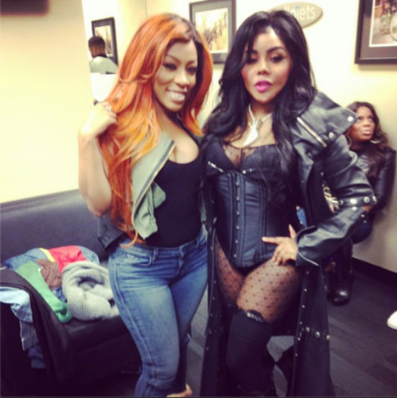 K. Michelle & Lil Kim Publicly Argue Over Nicki Minaj