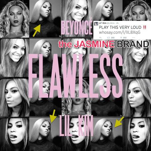 lil kim-hops on beyonce flawless remix-disses nicki minaj the jasmine brand