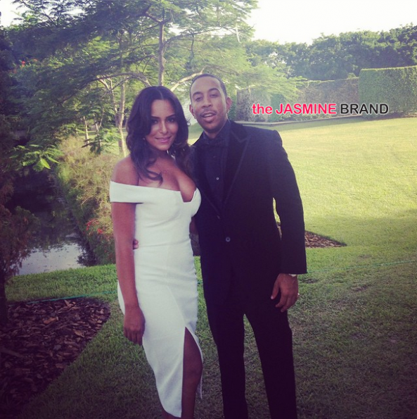 ludacris and eudoxie-gabrielle union-dwyane wade wedding celebrity guests 2014-the jasmine brand