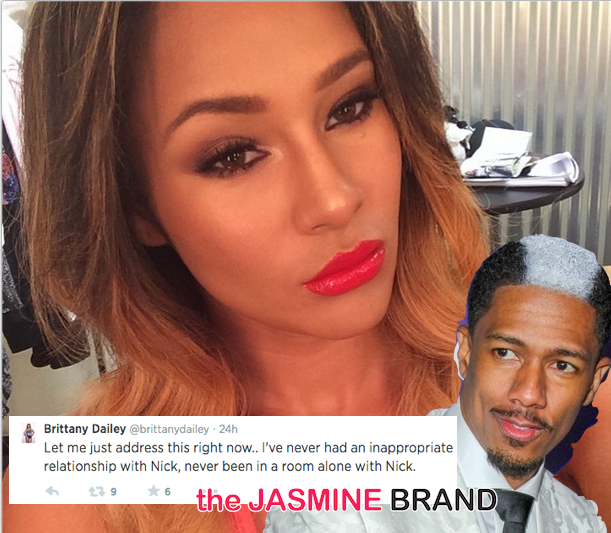 Model Brittany Dailey Denies Secretly Dating Nick Cannon