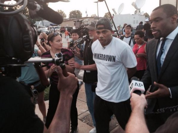 nelly hits ferguson-the jasmine brand