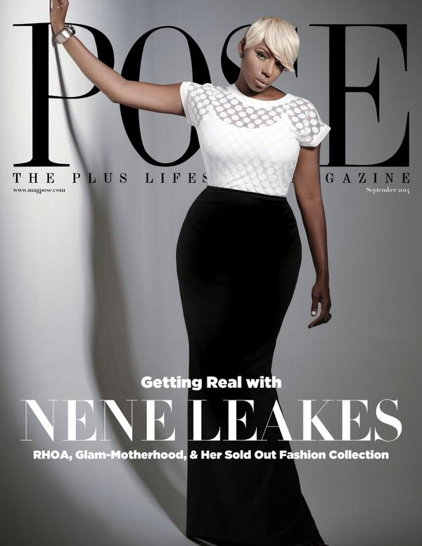 nene leakes cover pose magazine the jasmine brand