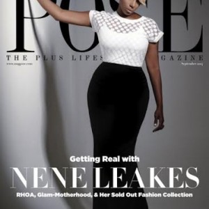 nene leakes pose magazine cover the jasmine brand