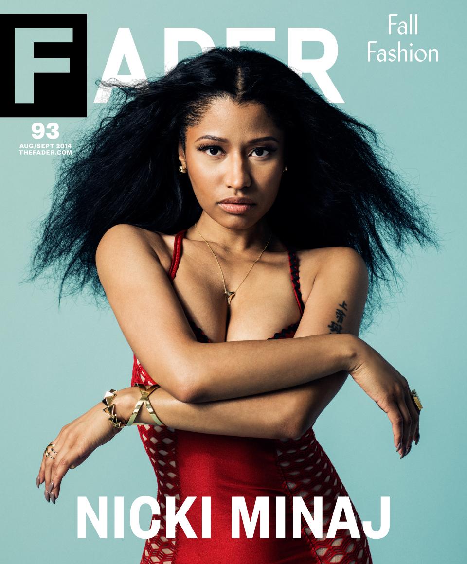 nicki minaj-covers the fader aug sept 2014-the jasmine brand