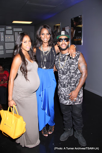 omarion and girlfriend apryl-tasha smith actors studio 2014-the jasmine brand