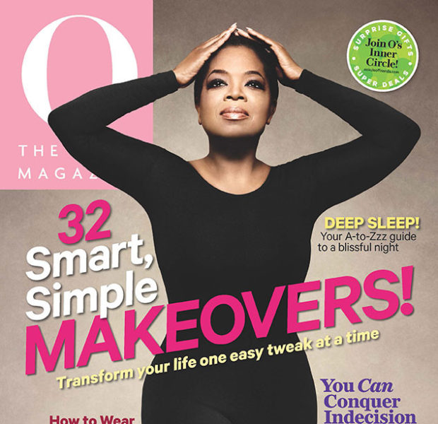 Catsuits & Curves! See Oprah's New 'O Magazine' Cover