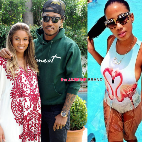 Ciara, Future & Tyrina Lee