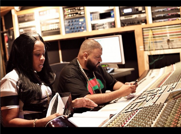 remy ma hits the studio after jail release the jasmine brand