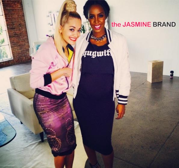 rita ora and a pregnant kelly rowland the jasmine brand