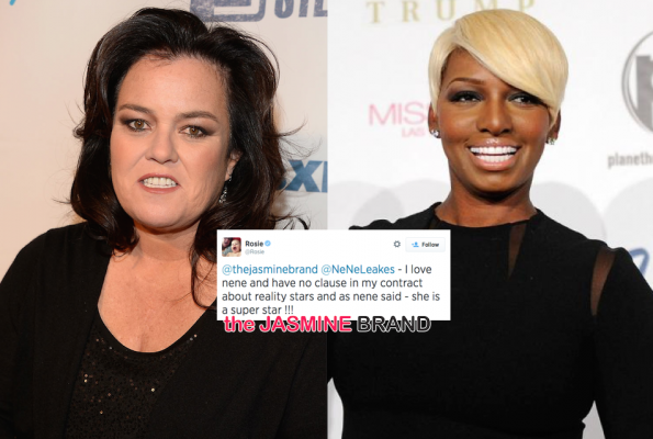 rosie denies reality tv clause-no beef with nene leakes-the jasmine brand