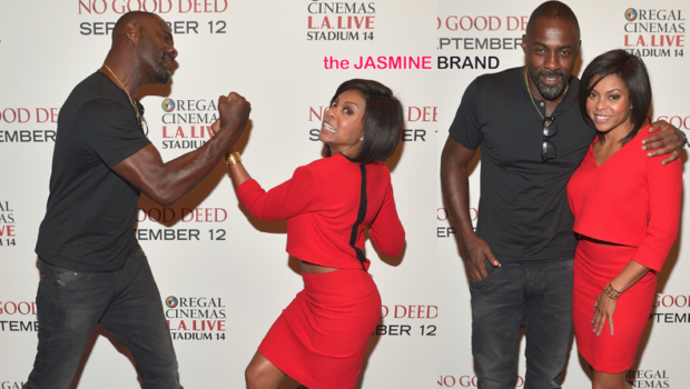 Idris Elba & Taraji P. Henson Host 'No Good Deed' Screening in LA