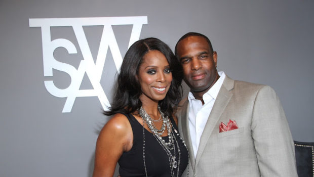 Actress Tasha Smith's Husband Allegedly Files Restraining Order