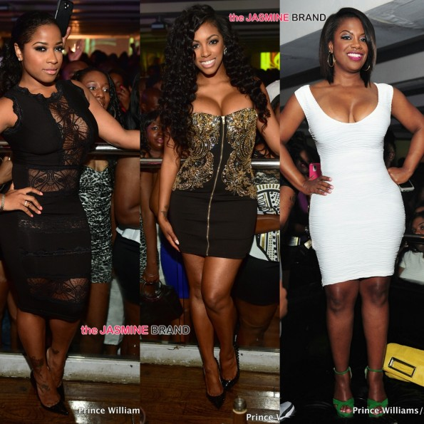 toya wright-porsha williams and kandi burruss-atlanta club the jasmine brand