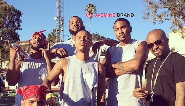 [Photos] Chris Brown & Quincy Host Flag Football Charity Game: Bow Wow, Trey Songz, Omarion, Terrell Owens, Tyga Attend