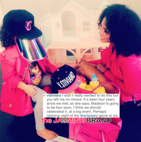 vstiviano announces 4 year old daughter madison-hints donald sterling as father-the jasmine brand