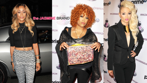 [Photos] Da Brat, Charli Baltimore, Joseline Hernandez & Tami Roman Attend Female Hip Hop Awards