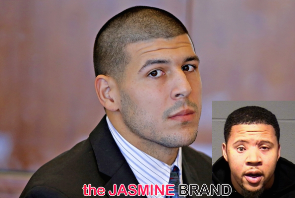 Aaron Hernandez Wants Jail House Interview w: Man Who Says He Shot Him in the Face-the jasmine brand