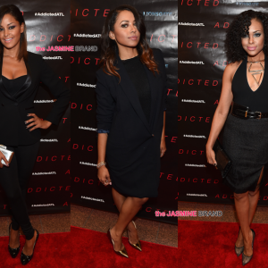 Addicted Movie Screening Atlanta-Claudia Jordan-Kat Graham-Demetria McKinney-the jasmine brand