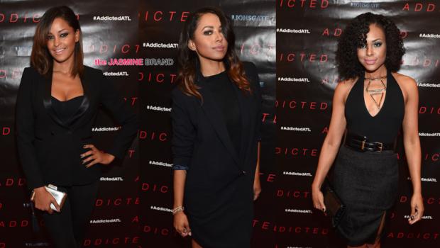 Kat Graham, Claudia Jordan, Demetria McKinney Attend 'Addicted' Screening