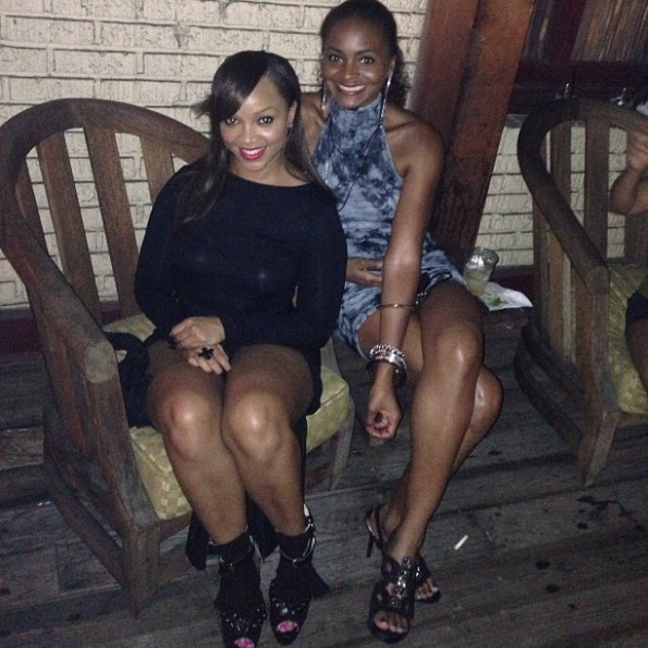 Allison Mathis, Former Basketball Wives' Royce Reed (Photo Jock & Stiletto Jill)