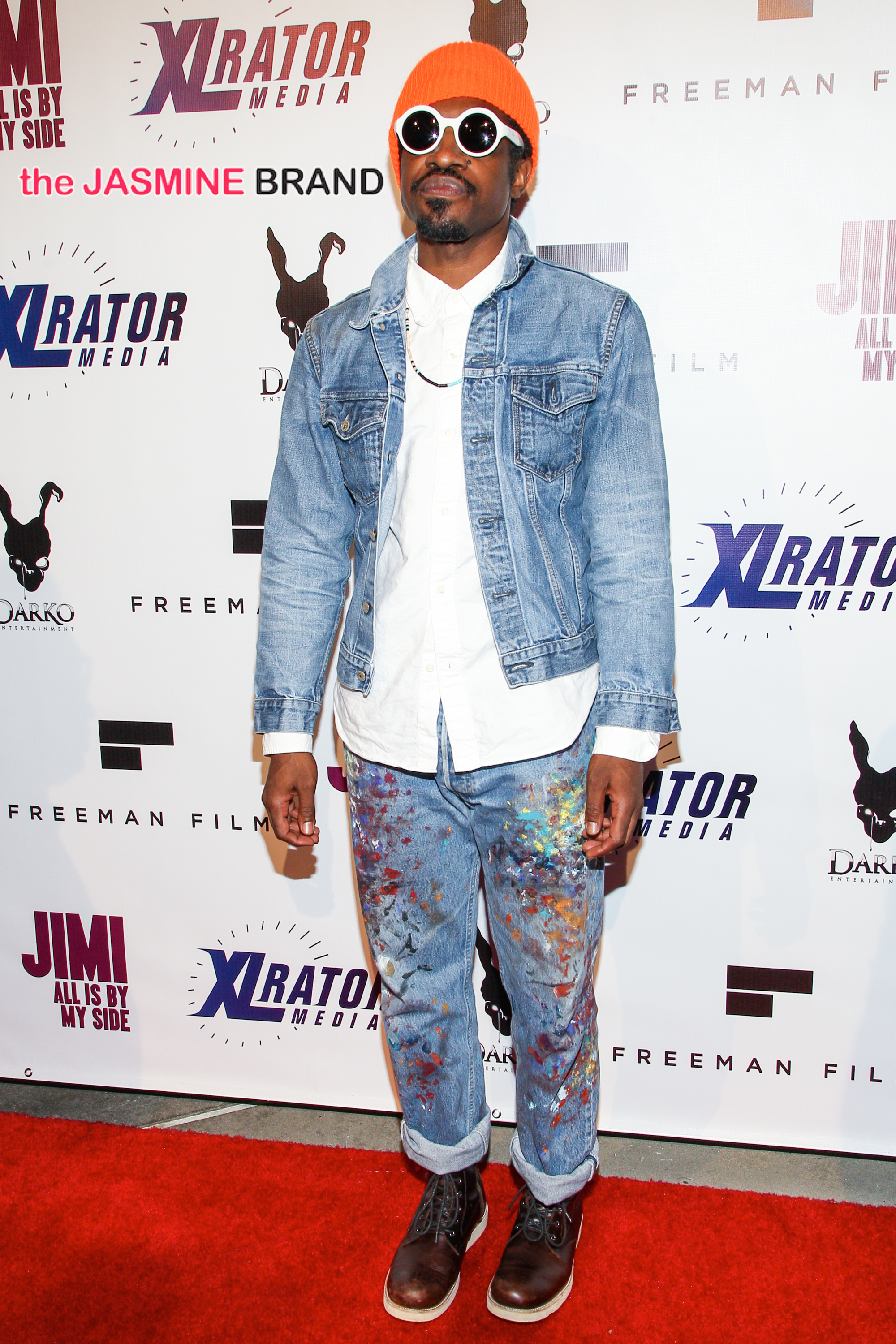 AndrÈ 3000 Benjamin attends the screening of 'Jimi: All Is By My Side'