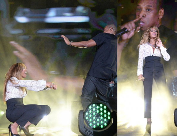 Beyonce Jay Z-Global Citizen Festival 2014-the jasmine brand