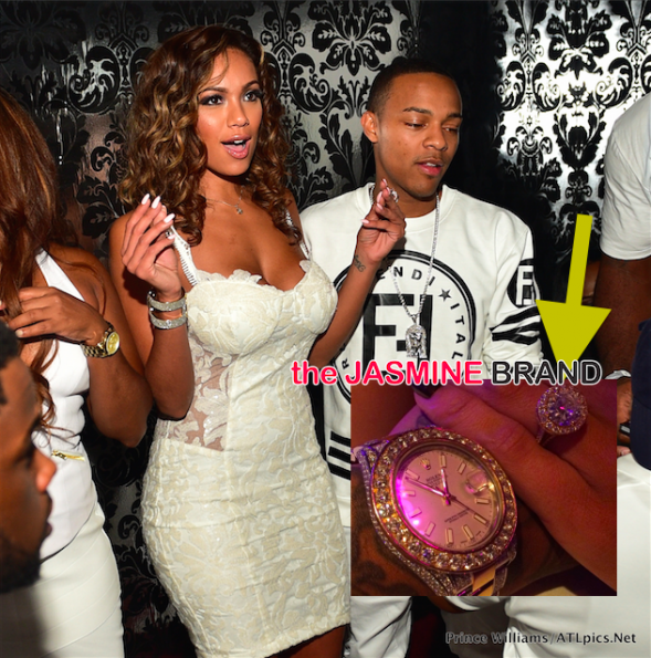 Bow Wow and Erica Men Engaged-the jasmine brand