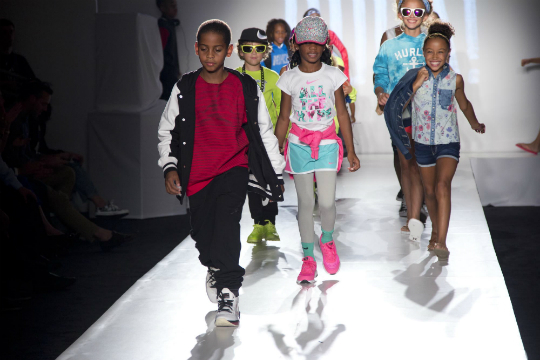 CELEB KIDS ROCK THE STAGE AT SECOND ANNUAL 'KIDS ROCK!' FASHION SHOW-the jasmine brand