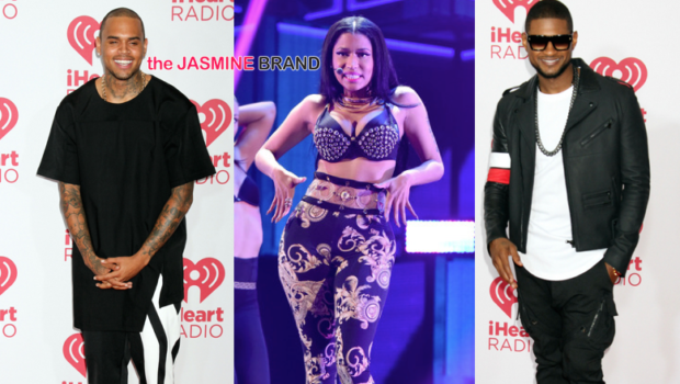 [Photos] iHeart Radio Music Festival: Nicki Minaj, Usher, Iggy Azaela, Chris Brown, Ariana Grande