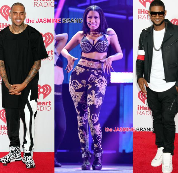 [Photos] iHeart Radio Music Festival: Nicki Minaj, Usher, Iggy Azaela, Chris Brown, Ariana Grande
