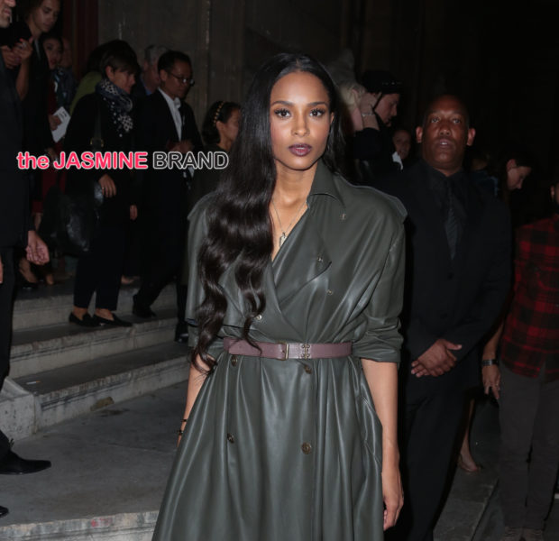 KimYe Hits Balmain Show, Ciara Attends Lanvin, Kelis Sports Blonde Fro, Patti Labelle Visits Queen Latifah + Lisa Raye, J.Hud, Ciara, Tracee Ellis Ross