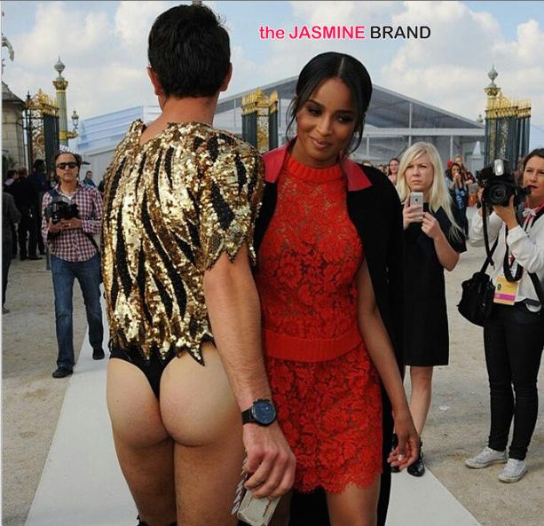 Awkward Much? Ciara Becomes Vitalii Sediuk's Latest Red Carpet Victim … Nice Thong