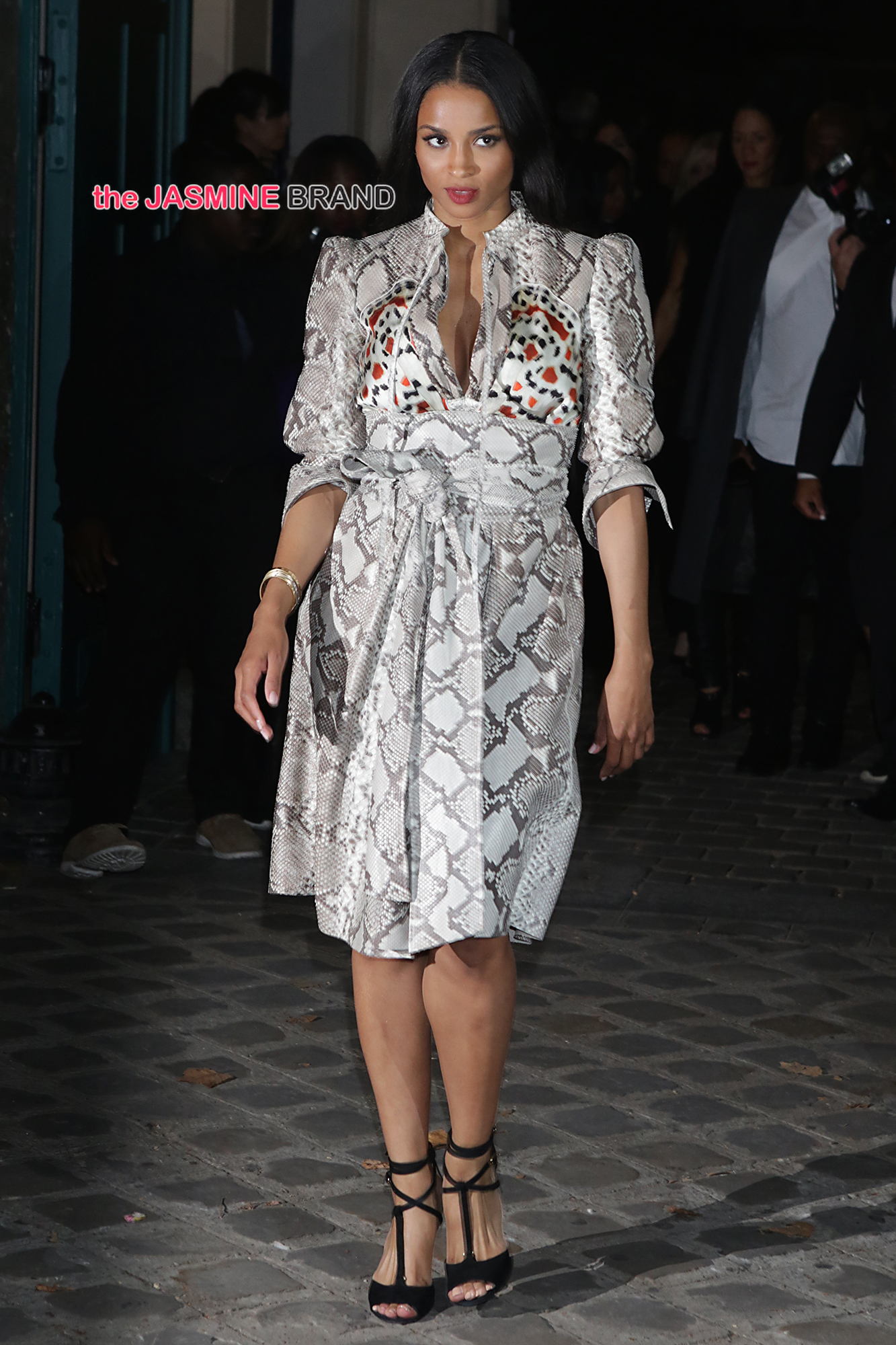 Ciara seen at the Givenchy S/S 2015 show in Paris