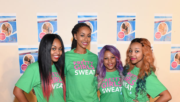 [Photos] Keri Hilson, OMG Girlz Host 'Pretty Girls Sweat'