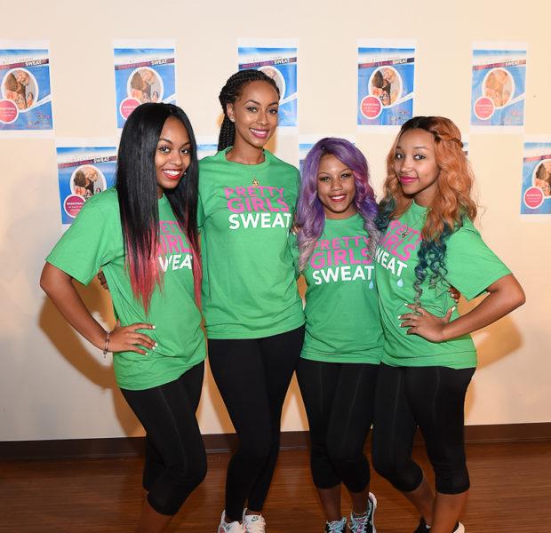 [Photos] Keri Hilson, OMG Girlz Host 'Pretty Girls Sweat'