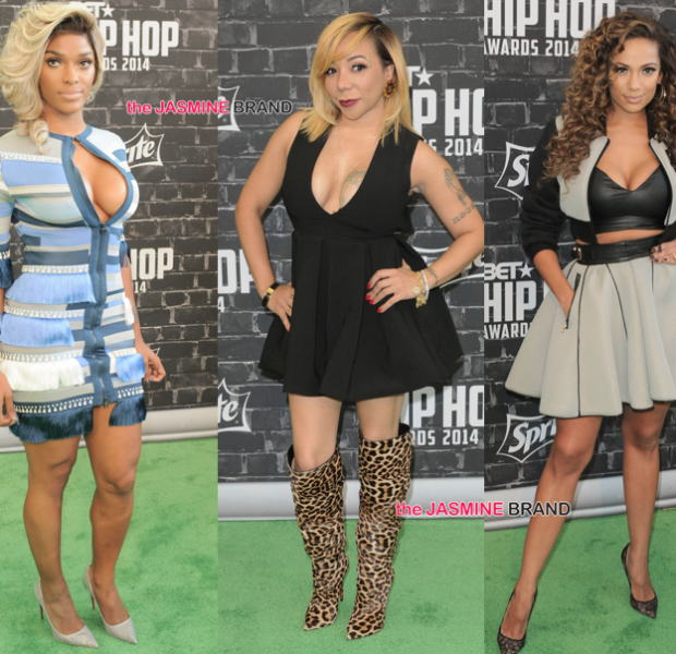 [Photos] BET Hip Hop Awards Red Carpet: NeYo, Mc Lyte, 2 Chainz, Lil Mama, Common & More
