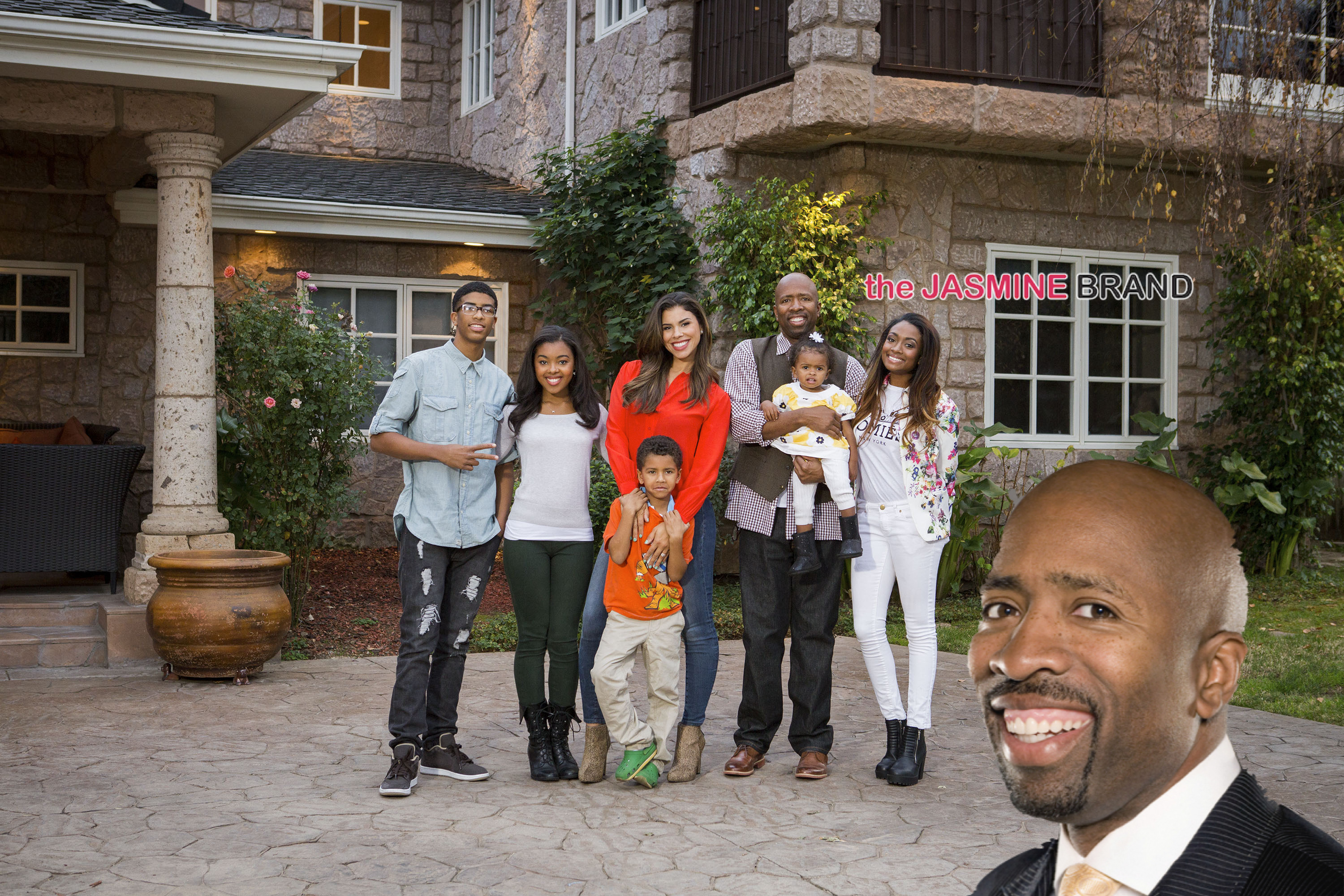Kenny Smith-reality show-the smiths-the jasmine brandKenny Smith House