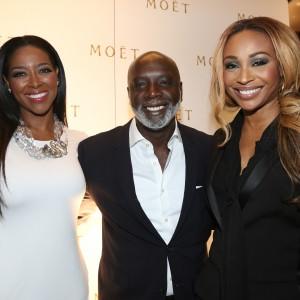 Kenya Moore, Peter Thomas & Cynthia Bailey