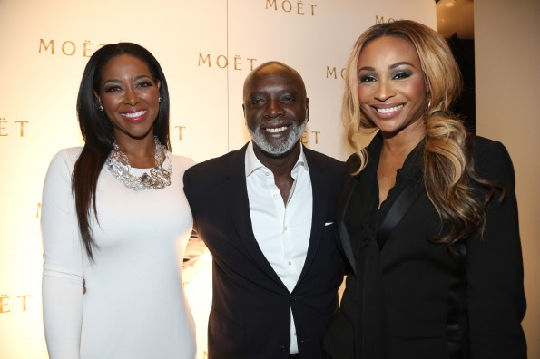 Kenya Moore, Peter Thomas & Cynthia Bailey