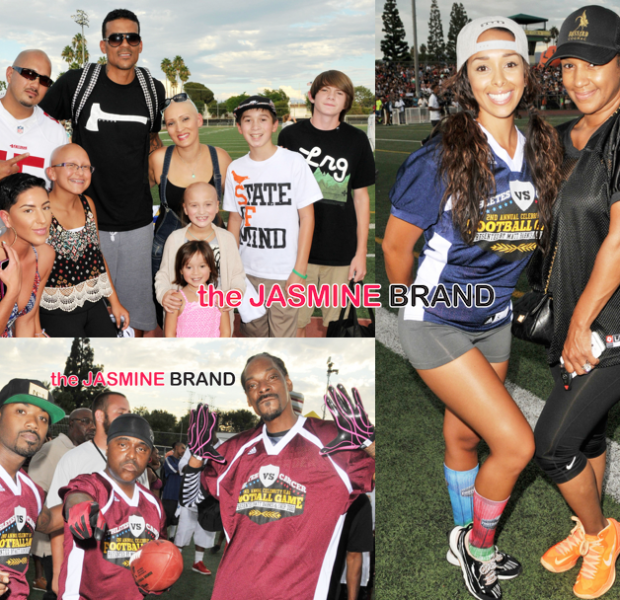 [Photos] Snoop & Matt Barnes Host Cancer vs. Charity Celeb Football Game: Chris Paul, Ray J, Faith Evans, Blake Griffin Attend