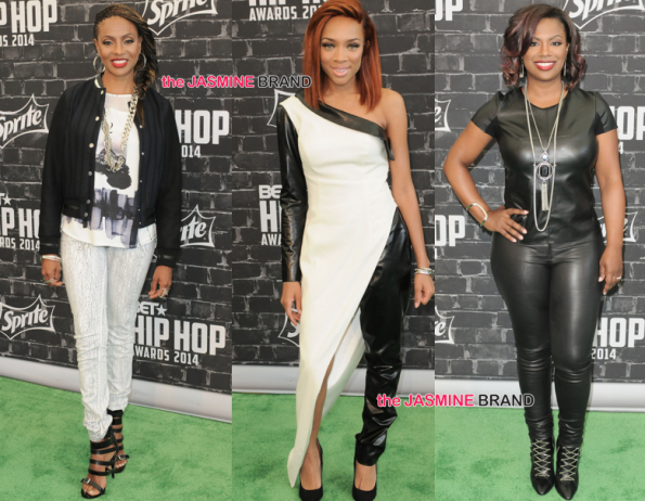 Mc Lyte-Lil Mama-Kandi-BET Hip Hop Awards 2014-the jasmine brand.jpg