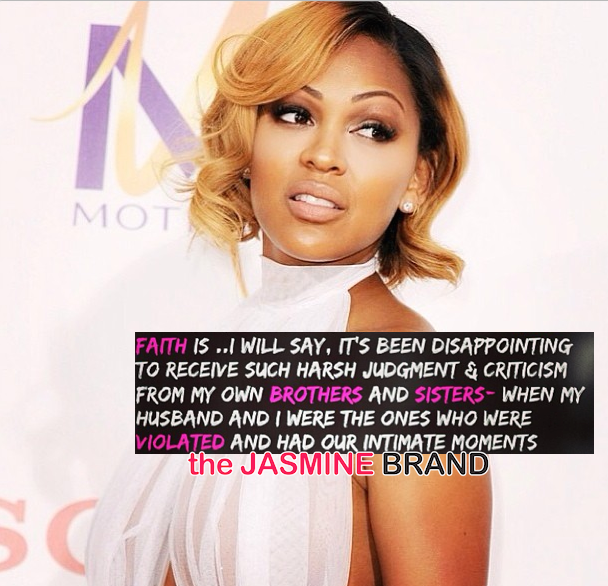 Meagan Good Disappointed Church Folk Judging & Criticizing Leaked Nude Photos + Read Her Message!