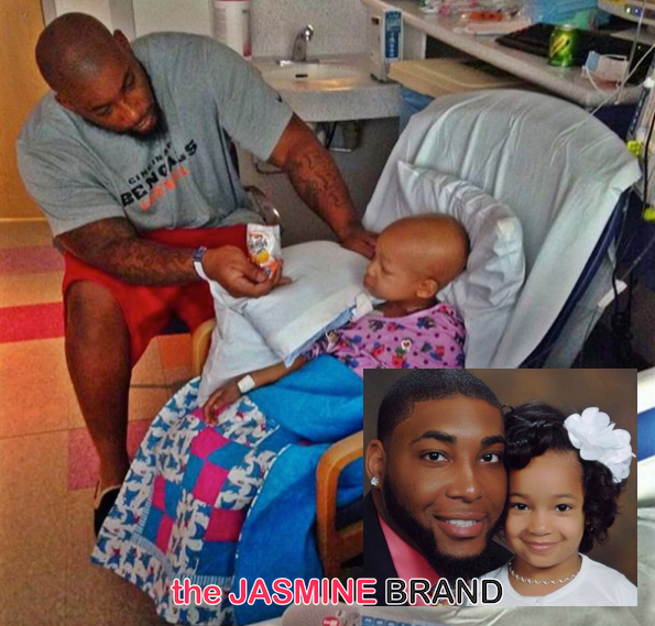 NFL'er Devon Still's 4-Year-Old Daughter Continues Battle With Cancer