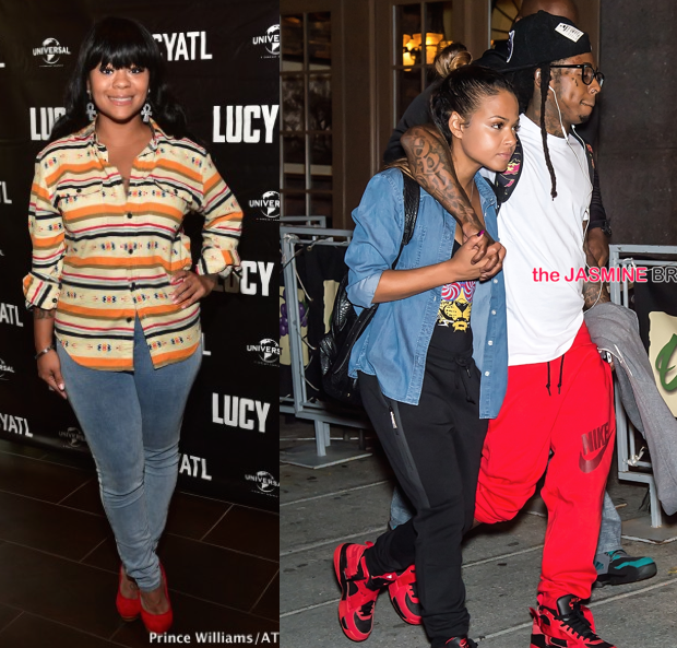 [VIDEO] Nivea Disapproves of Lil Wayne & Christina Milian's Relationship: It's Crazy!