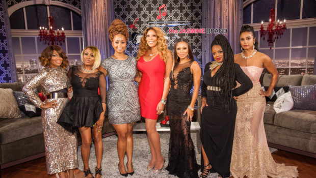 R&B Divas LA Cast Throw Twitter Shade, Spills Tea During Reunion Show