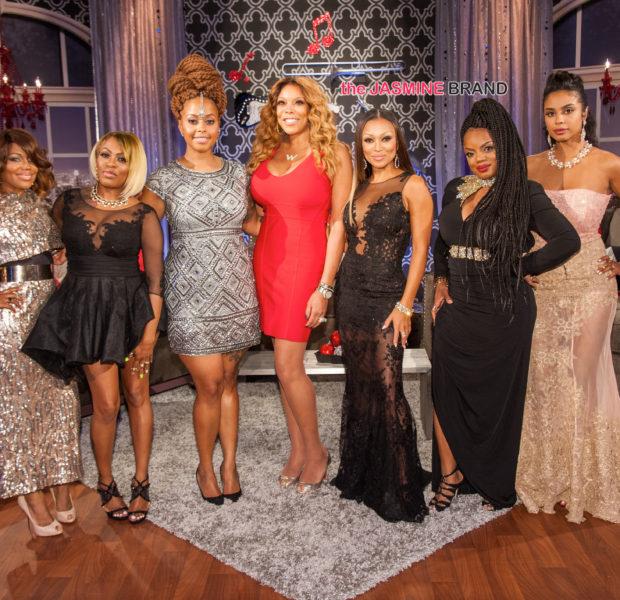 R&B Divas LA Cast Throw Twitter Shade, Spills Tea During Reunion Show