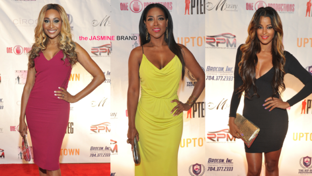 Cynthia Bailey, Kenya Moore, Kandi Burruss, T.I. Attend 'Salute to Excellence' Awards