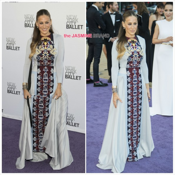 Sarah Jessica Parker-Mary Katrantzou-New York City Ballet-the jasmine brand