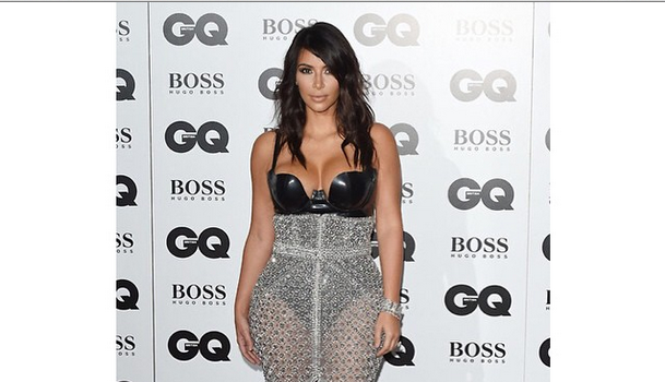 Spotted. Stalked. Scene. Kim Kardashian Wears 'Ralph & Russo' to GQ Men of the Year Awards